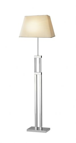 Domain Quartz Glass Floor Lamp DOM4950 (135925) (Class 2 Double Insulated)